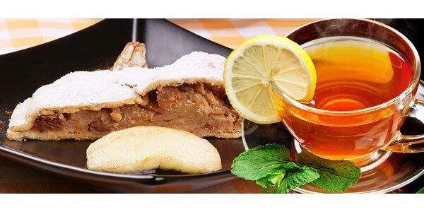 Skvelý závin a šálka lahodného čaju či kávy Piazza d'Oro Intenso