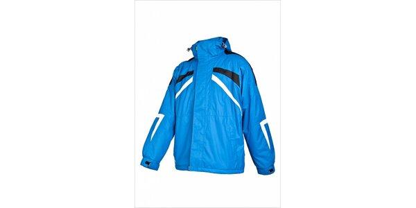 Pánska svetlo modrá lyžiarska bunda Envy