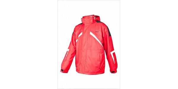 Pánska červená lyžiarska bunda Envy