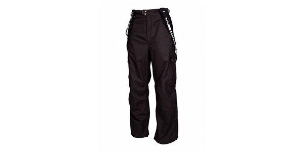 Pánske čierne snowboardové nohavice Envy
