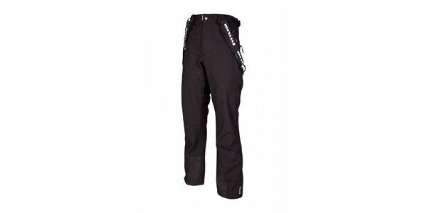 Pánske čierne zimné softshellové nohavice Envy