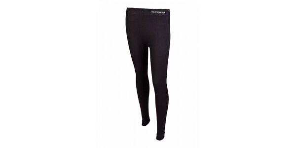 Dámske čierne bezošvé podvlékacie nohavice Envy