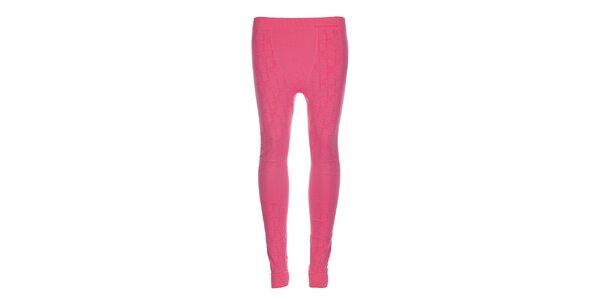 Dámske ružové podvlékacie nohavice Envy