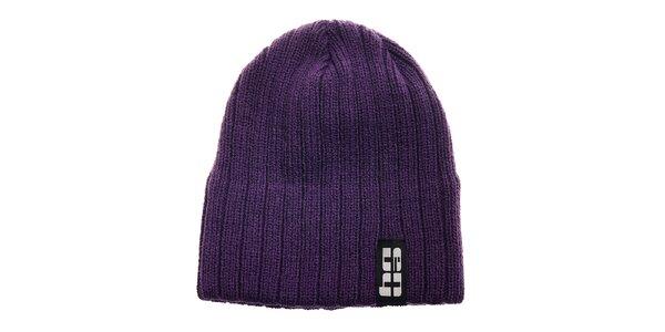 Detská fialová pletená čapica Envy
