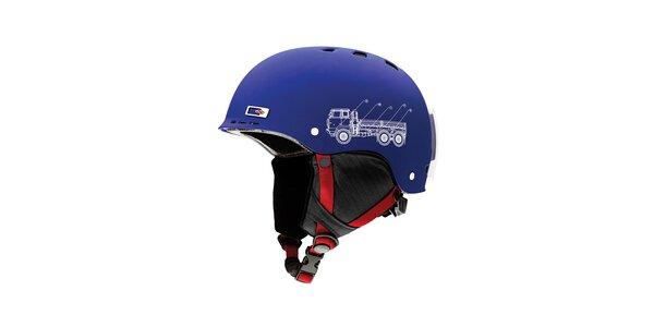 Modrá detská helma Smith