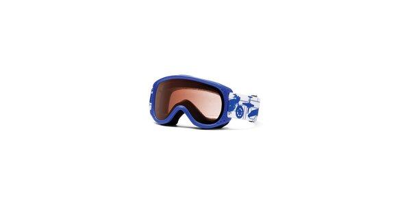 Detské svetlo modré lyžiarske okuliare Smith Optics