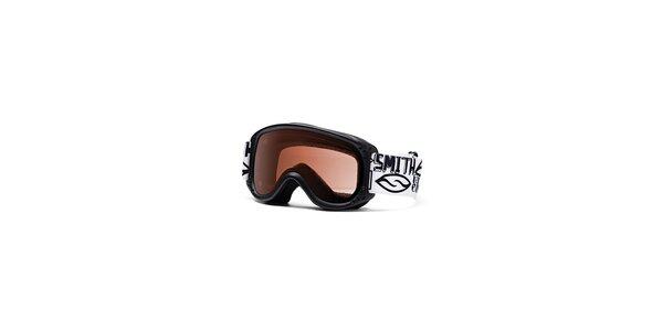 Detské čierne lyžiarske okuliare Smith Optics