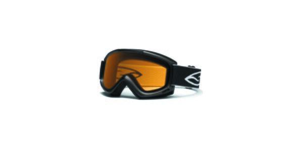 Čierne lyžiarske okuliare Smith Optics