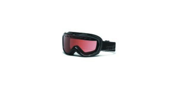 Menšie čierne lyžiarske okuliare Smith Optics