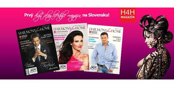 Predplatné časopisu Harmony for Home