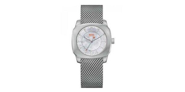 Dámske oceľové analógové hodinky Hugo Boss Orange