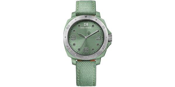 Dámske zelené analógové hodinky Hugo Boss Orange