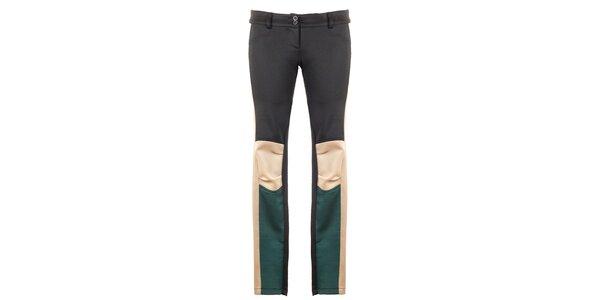 Dámske trojfarebné nohavice Hype