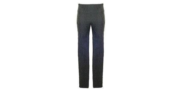 Dámske čierne vzorované nohavice Hype