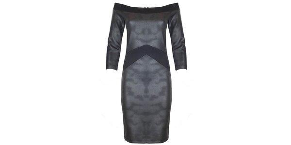 Dámske metalické šaty Hype