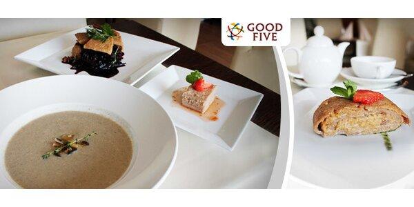 Jesenné trojchodové menu v Good Five
