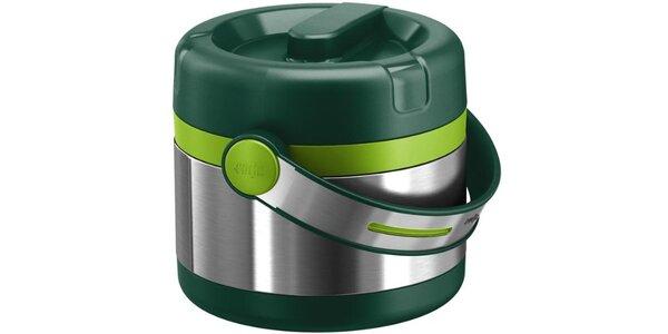 Termonosič EMSA – svetlo zelená/zelená,0,65L