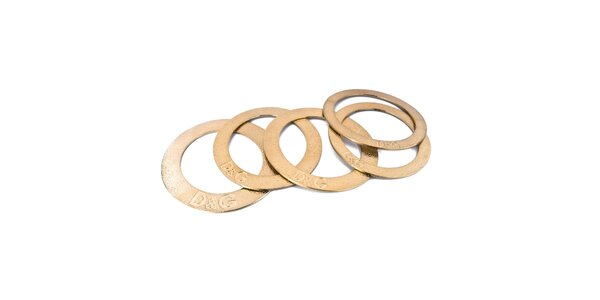 Dámske zlaté oceľové náramky Dolce&Gabbana