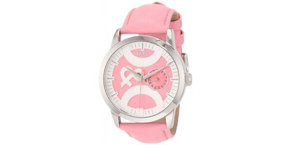 Dámske ružové hodinky Dolce & Gabbana