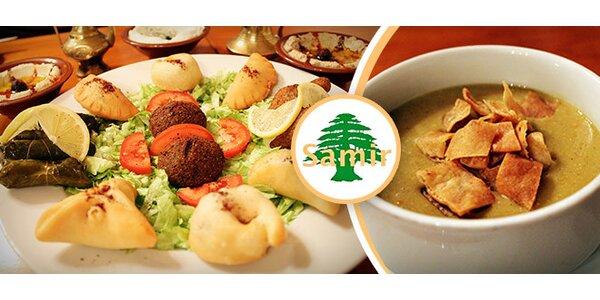 Arabské zážitkové menu