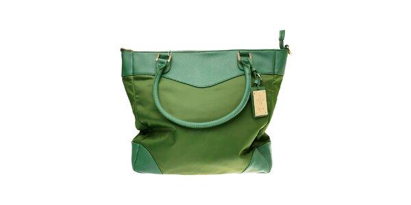 Dámska trávovo zelená kabelka Hope