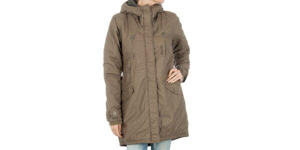Dámsky khaki kabát Bench