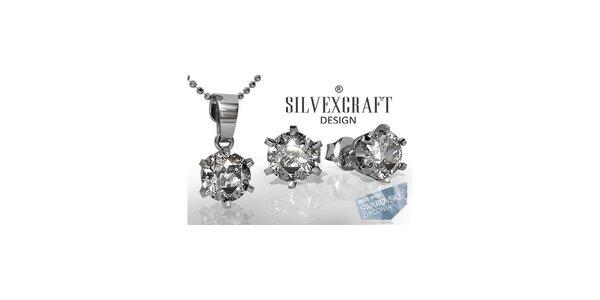 Sada náhrdelníka a náušnic SWAROVSKI elements 6 mm