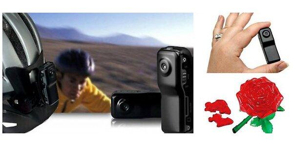 Športová DV Mini kamera za jedinečnú cenu 19,90 €, vrátane poštovného + zadarmo…