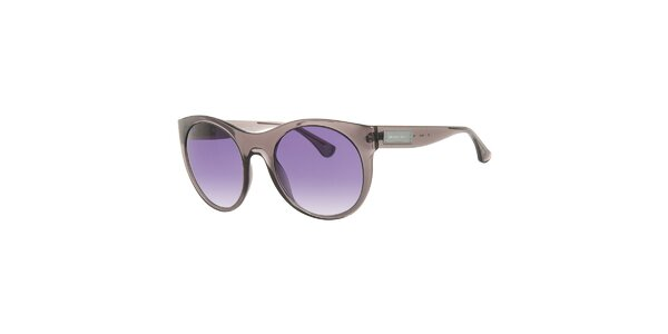 Dámske šedohnedé transparentné slnečné okuliare Michael Kors