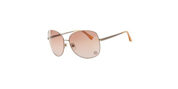 Dámske strieborné slnečné okuliare Michael Kors
