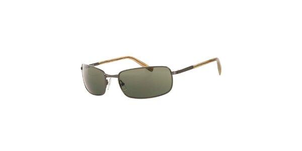 Dámske tmavé hranaté slnečné okuliare Michael Kors