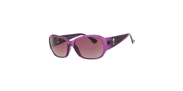 Dámske fialové slnečné okuliare Michael Kors s fialovými sklíčkami