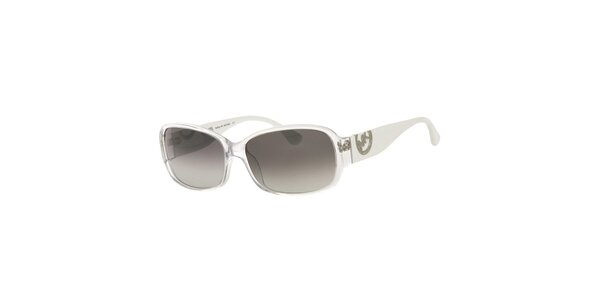 Dámske bielo-priehľadné slnečné okuliare Michael Kors