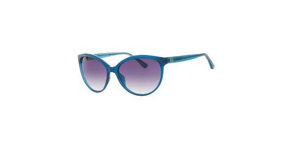 Dámske modré retro okuliare Michael Kors