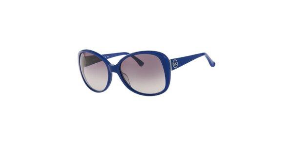Dámske tmavo modré retro okuliare Michael Kors