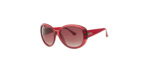 Dámske tmavo červené slnečné okuliare Michael Kors