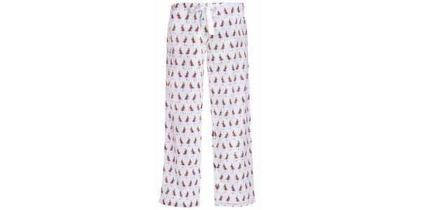 Dámske dlhé pyžamové nohavice s potlačou dievčaťa MaybeBlu