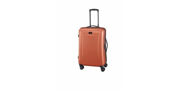 Stredný oranžový kufor Esprit