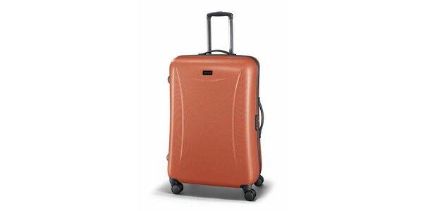 Veľký oranžový kufor Esprit