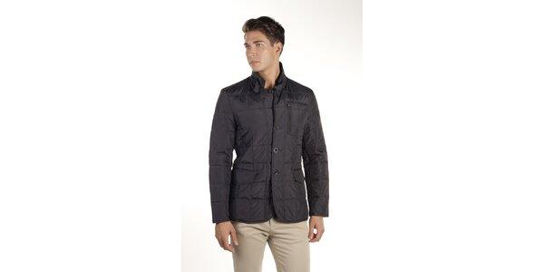 Pánsky tmavo modrý prešívaný kabátik Armata di Mare
