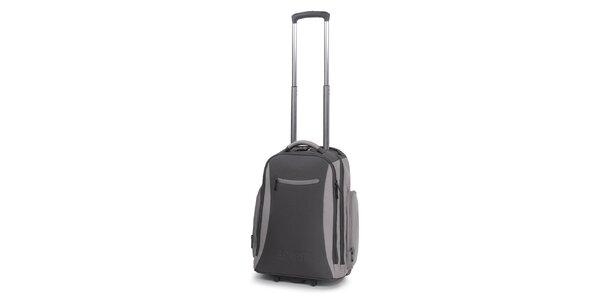 Šedý batoh na kolieskach Esprit