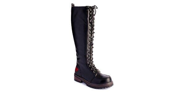 Dámske vysoké šnurovacie topánky Lola Ramona