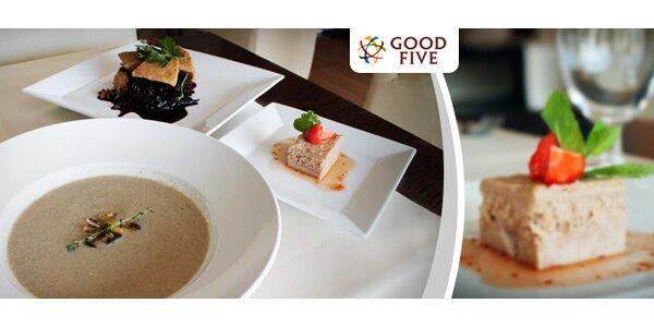 Jesenné trojchodové menu v reštaurácii GOOD FIVE