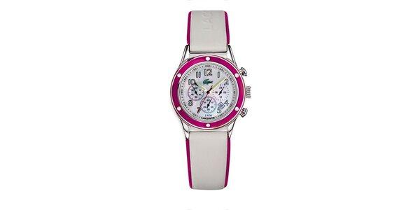 Dámske hodinky Lacoste s ružovými detailami