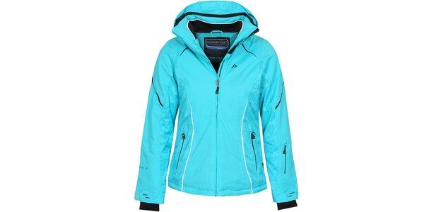 Dámska svetlo modrá lyžiarska bunda Bergson