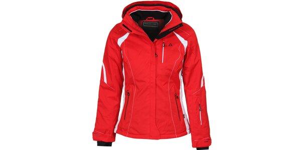 Dámska červená lyžiarska bunda Bergson