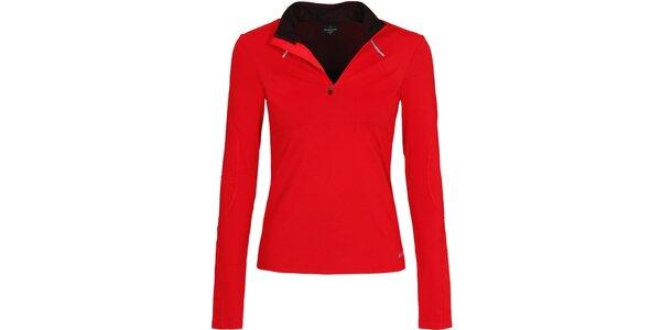 Dámske červené bežecké tričko Bergson