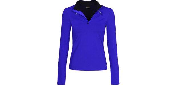 Dámske modré bežecké tričko Bergson