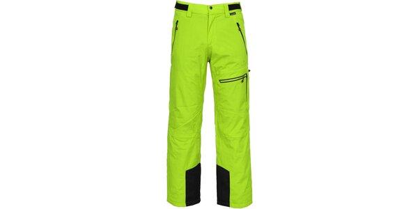 Pánske zelené lyžiarske nohavice Bergson