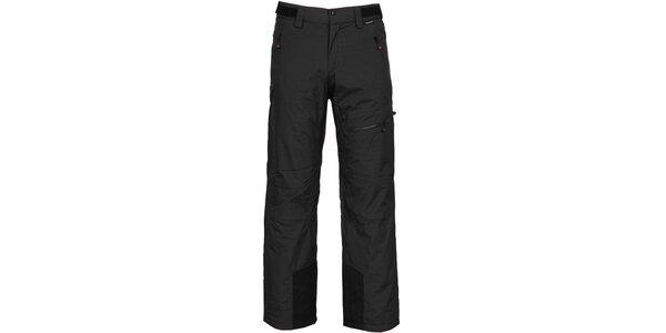 Pánske čierne lyžiarske nohavice Bergson